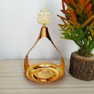 Ottoman Style Original Copper Gold Color Serving Tray