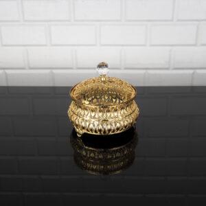 Hürrem Gold Color Mirror Snack Bowl
