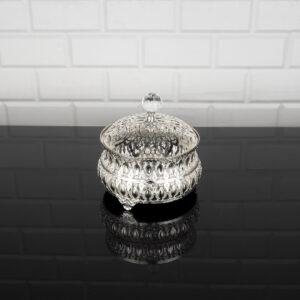 Hürrem Silver Color Mirror Snack Bowl