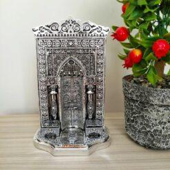 Silver Color Mihrap Design Islamic Decor