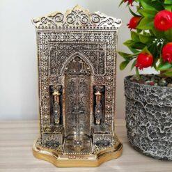 Gold Color Mihrap Design Islamic Decor